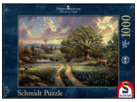 Schmidt: Thomas Kinkade - Painter of Light, Country Living (1000)