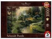 Schmidt: Thomas Kinkade - Painter of Light, Stillwater Cottage (1000)