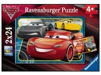 Ravensburger: Disney - Cars 3, Adventure With Lightning McQueen (2 x 24)